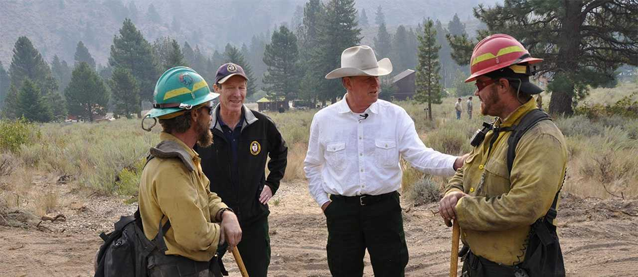 GOVERNOR BUTCH OTTER: IDAHO'S FORESTS...LEADING THE WAY FOR CHANGE